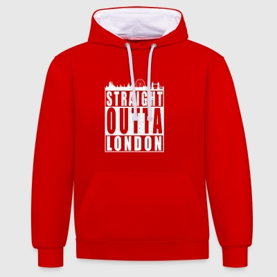 Straight Outta London - Sweat-shirt contraste