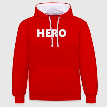 Hero (2201) - Sweat-shirt contraste