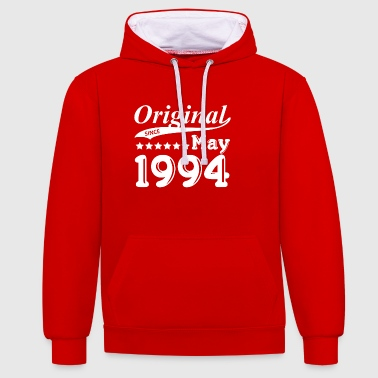 Original Since May 1994 - Kontrast-Hoodie