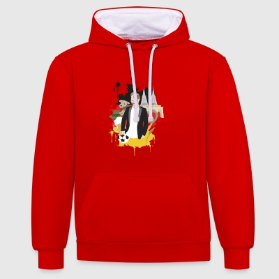 Get Germanized - Contrast Colour Hoodie