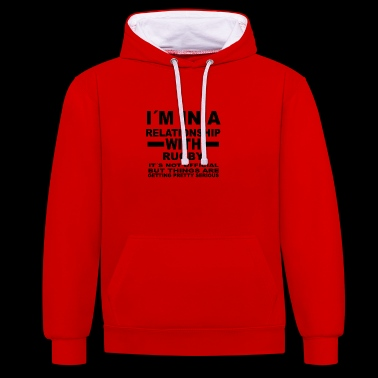 Relationship with RUGBY - Contrast Colour Hoodie
