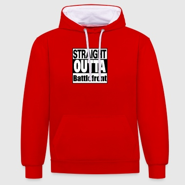 Straight outta Battle - Kontrast-hettegenser