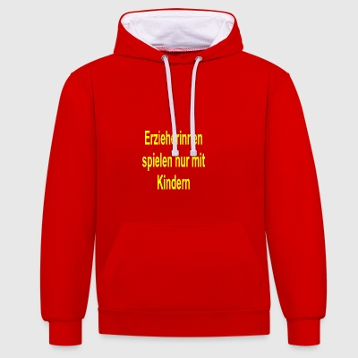 educator - Contrast Colour Hoodie