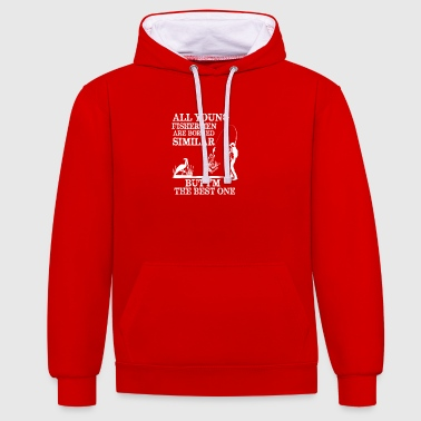 Young Fisherman - Contrast Colour Hoodie