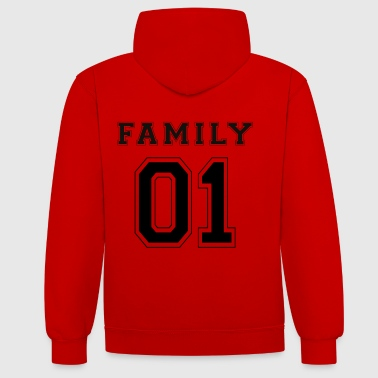 FAMILLE 01 - Black Edition - Sweat-shirt contraste