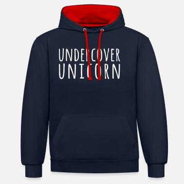 Purple Unicorn Lover Gift Unisex Hoodie