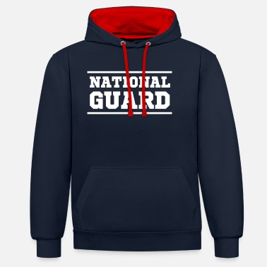 National national guard - Unisex Hoodie zweifarbig