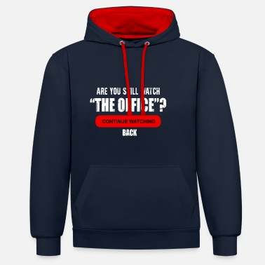 Office The office - Unisex Contrast Hoodie
