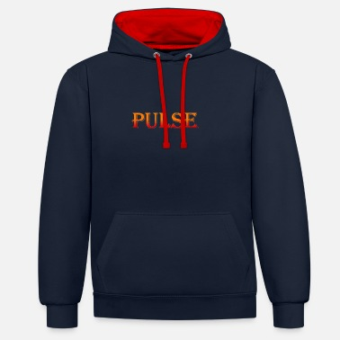 Pulssin Pulse Pulse Pulse of time - Unisex kontrastihuppari