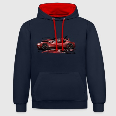 konzept car - Sweat-shirt contraste