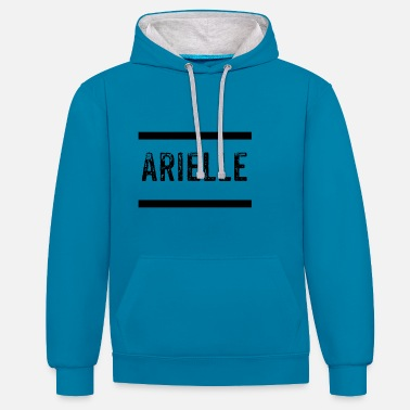 Twitch Arielle Twitch - Contrast Colour Hoodie
