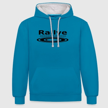 Rally Around - Contrast Colour Hoodie