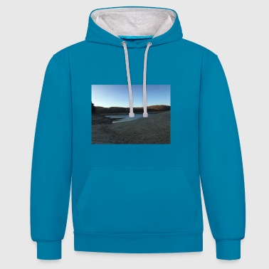 LAKE - Contrast Colour Hoodie