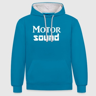 Son moteur - Sweat-shirt contraste