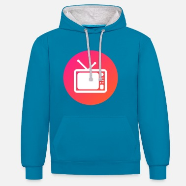 Television television - Contrast Colour Hoodie