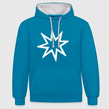 Explosion explosion - Contrast Colour Hoodie
