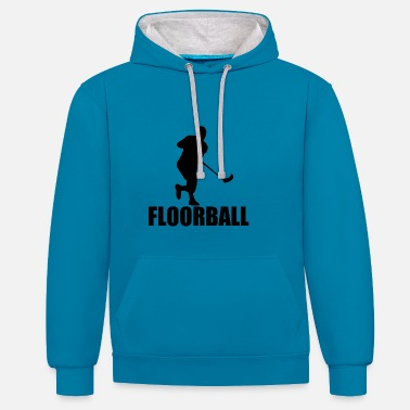 Balle Floorball - Sweat-shirt contraste