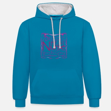 Best Nurse Hospital Gift - Contrast Colour Hoodie