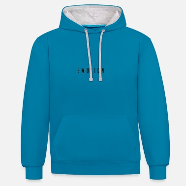 Emotion emotion - Contrast Colour Hoodie