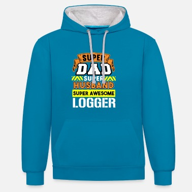 Best Father Best Father Best Husband - Contrast Colour Hoodie