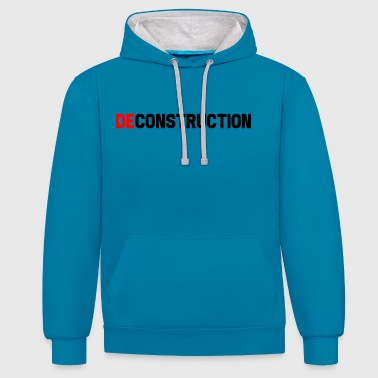 || Déconstruction || DE || - Sweat-shirt contraste