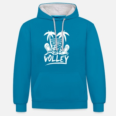 Beach Volley BEACH VOLLEY - Sweat-shirt contraste