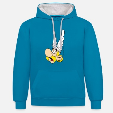 Asterix & Obelix - Asterix Kid's T-Shirt - Contrast Colour Hoodie