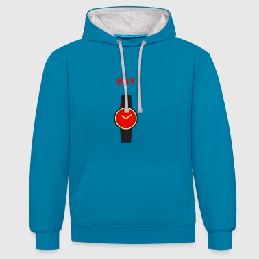 Baywatch-logo - Contrast hoodie