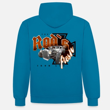 Bikes And Cars Collection rod's fresh - Contrast Colour Hoodie