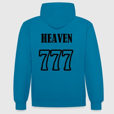heaven - Sweat-shirt contraste