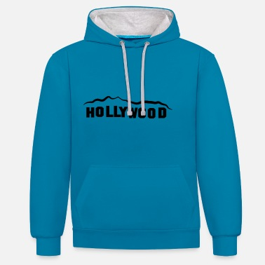 Hollywood HOLLYWOOD - Unisex contrast hoodie