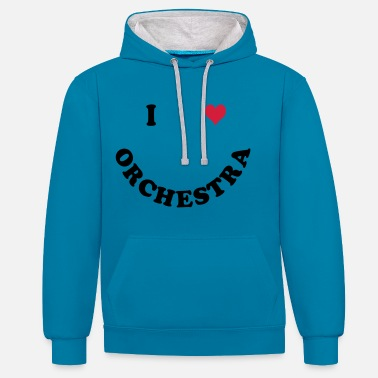 Orchestra orchestra - Unisex Contrast Hoodie