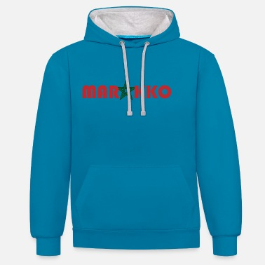 Morocco Morocco - Unisex Contrast Hoodie