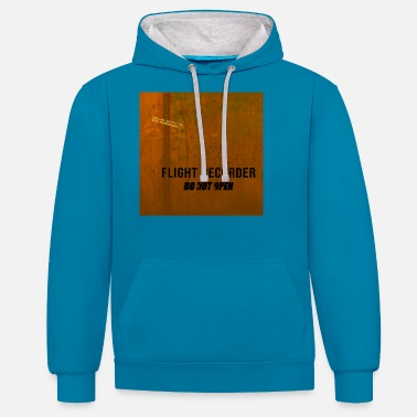 Flight Recorder - Do Not Open - Unisex Hoodie zweifarbig