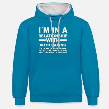 Auto Racing relationship with AUTO RACING - Unisex Contrast Hoodie