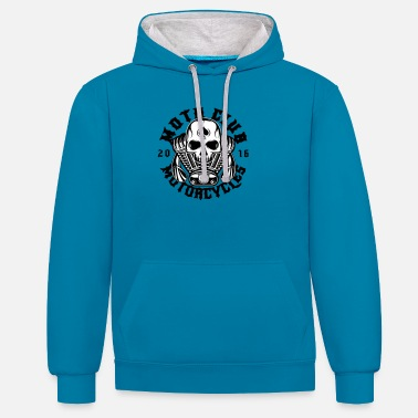 Motorcycle Club Motorcycle Club - Unisex Contrast Hoodie