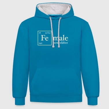 Fe Powerlifter - Sweat-shirt contraste