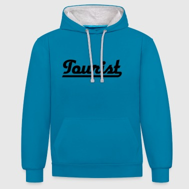 2541614 115206115 Tourist - Contrast hoodie