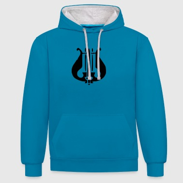 Caller - Contrast Colour Hoodie