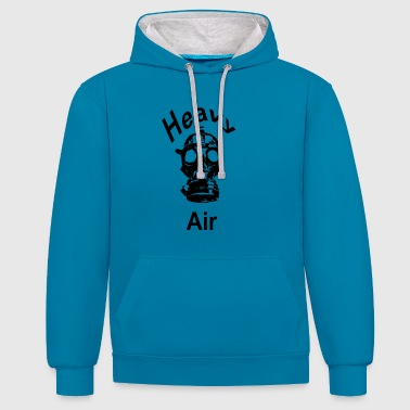 air lourd - Sweat-shirt contraste