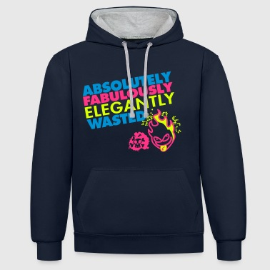 absolutely_fabulously_, T-DAY2015 - Contrast hoodie