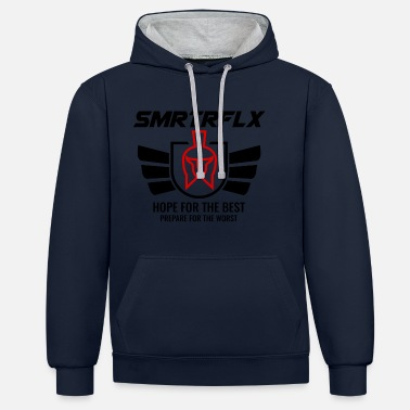 Spartiates conception Spartiates SMRTRFLX - Sweat-shirt contraste