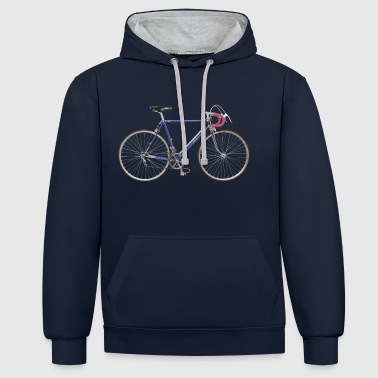 racing bike 50s - Contrast Colour Hoodie