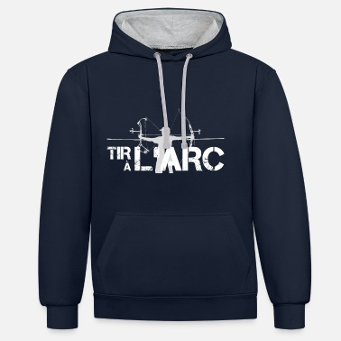 ArcLab - Logo Tir à l'Arc - Sweat-shirt contraste