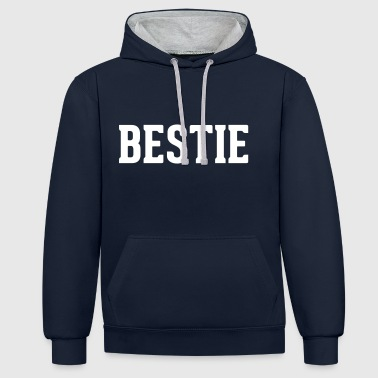 Bff Bestie - Sweat-shirt contraste
