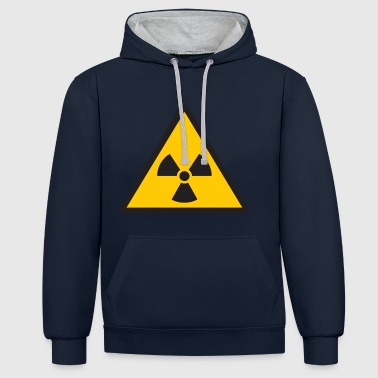 nuclear - Contrast Colour Hoodie