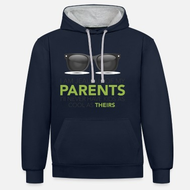 Parents PARENTS - Contrast Colour Hoodie