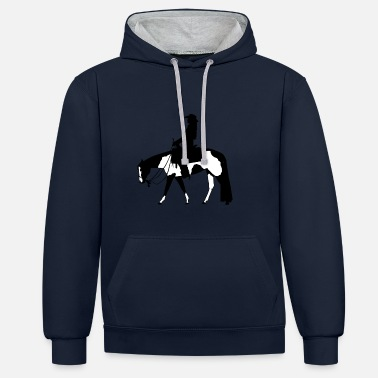 Western Riding pleasure riding - Contrast Colour Hoodie