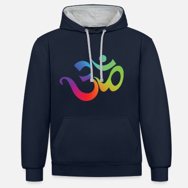 Om Yoga OM - Sweat-shirt contraste