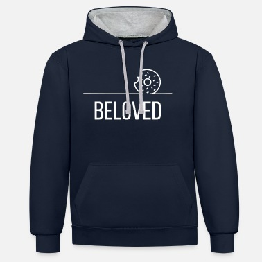 Beloved Beloved - Contrast Colour Hoodie